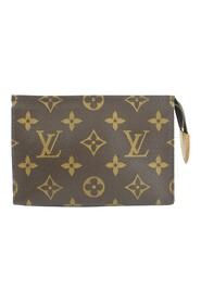 Pre-owned Monogram Pouch Canvas