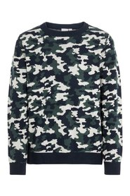 Pullover camo patterned