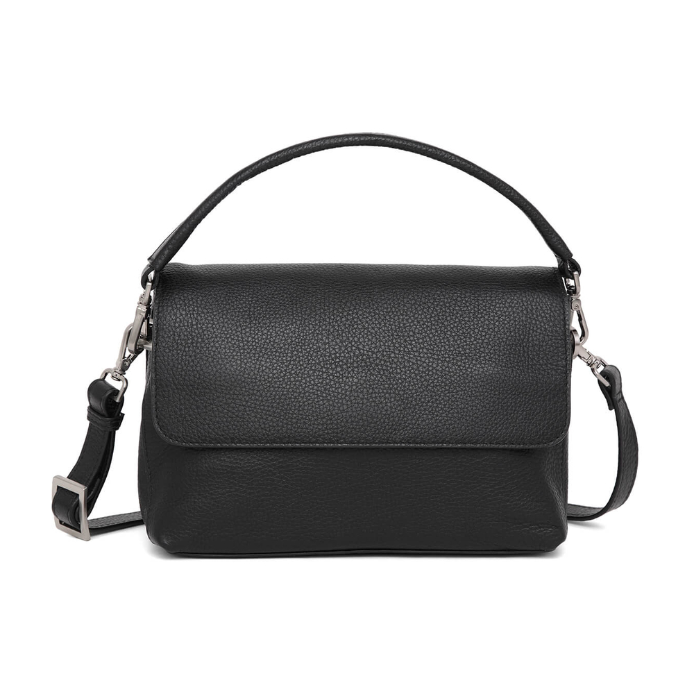 Adax Pil Black Cormorano Shoulder Bag