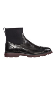 men's genuine leather ankle boots h393