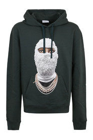 HOODIE WITH FUTURE MASK PRINT