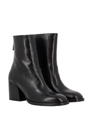 Fabia silk ankle boots