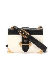 Begagnade Large Leather Cahier Crossbody Bag