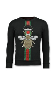 King Fly Glitter - Exclusieve Sweater Mannen
