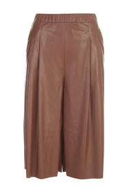 STRETCH ECO LEATHER SHORTS