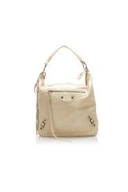 Motocross Classic Day  Shoulder Bag Leather Lambskin