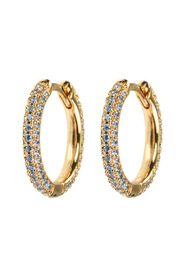 Emilia Stone Covered Hoops Accessories