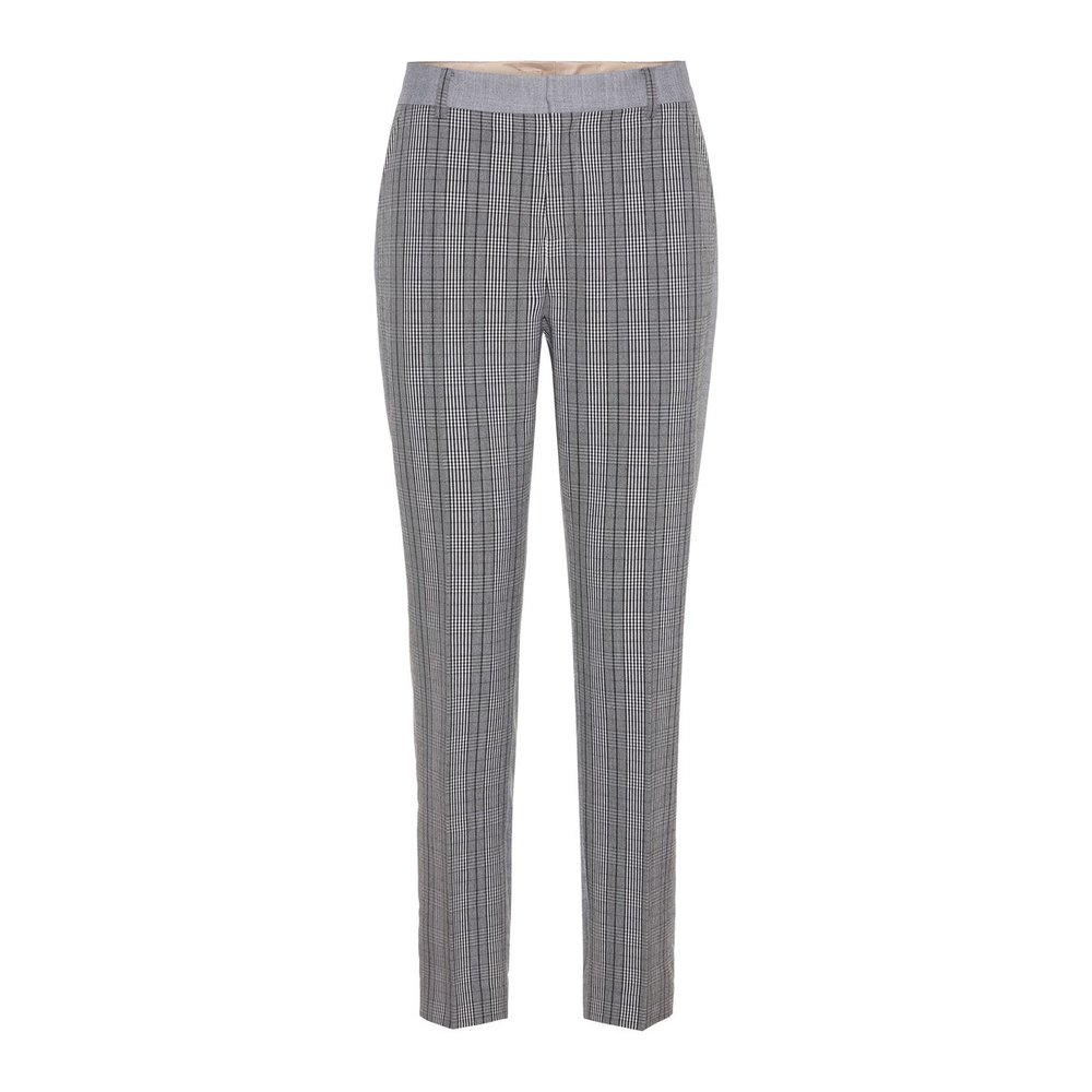 Trousers Checked cropped