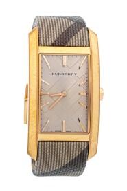 pre-owned Stainless Steel Leather Pioneer BU9408 Women's Wristwatch