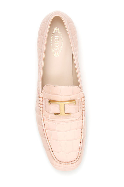 Tod's Pink Buckle loafers Loafers - Roze