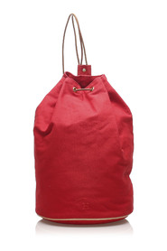 Pre-owned Polochon Mimile Backpack Fabric Canvas