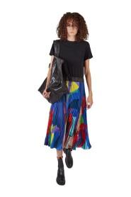 Dress kaws print