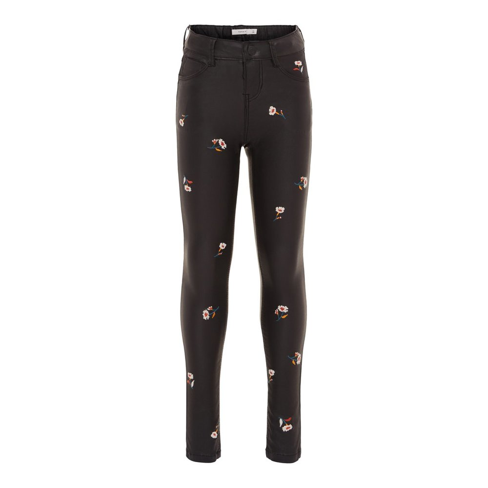 Trousers coated