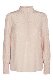 Madonna Dot Shirt Bluse