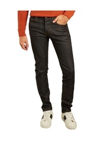 Super guy cashmere stretch blend denim jeans