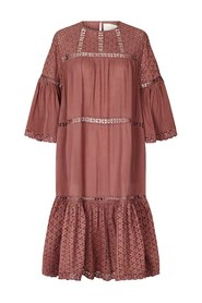 Cognac Dress