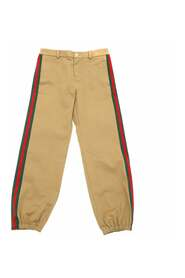 Logo-Patched Trousers