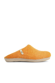 Hjemmesko slip-on Orange