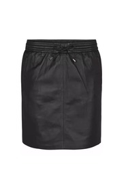 IVANA LEATHER SKIRT