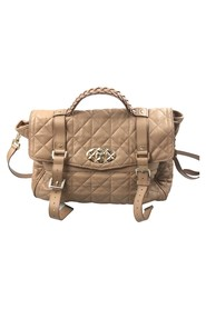 Quilted Leather Alexa Satchel