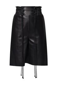 Aydoun leather shorts