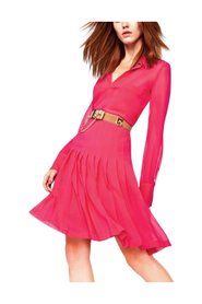 Azalea Bonita Pleated Chiffon Skirt