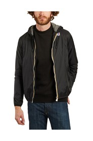 Jacques zipped hooded jacket