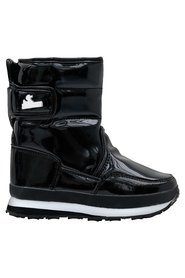 Sporty Snowjoggers, Quilted Patent PU