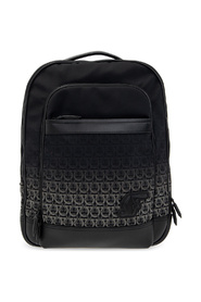 Nylon SF backpack with logo