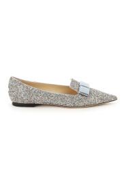 Gala glitter ballet flade sko