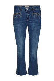 Blå Mos Mosh Simone Zip Long Bukse