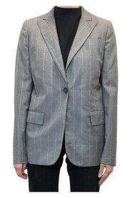 Single breasted check jacket