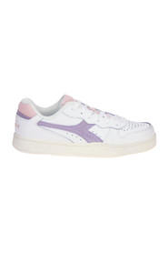Basket Low Icona Paarse Sneaker