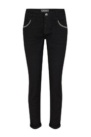 Naomi Row Black Jeans