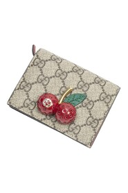 Pre-owned Cherry GG Wallet