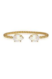 Krem CAROLINE SVEDBOM - Mini Drop Bracelet Gold Light Delite