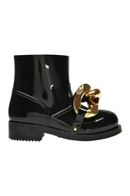 Chain Rubber Ankle Boots