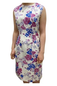 Sleeveless above the knee floral print dress