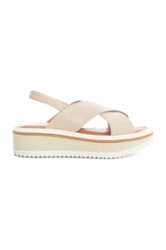 SANDALS WITH HIGH SOLE AND TWO STRAP