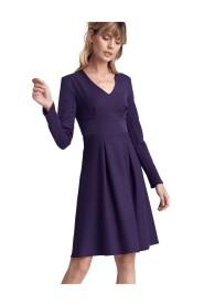 Sukienka z dwoma kontrafałdami