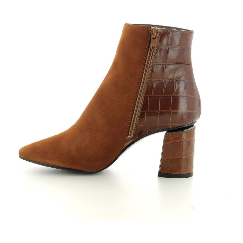 JHAY brown Women's shoes boots JHAY