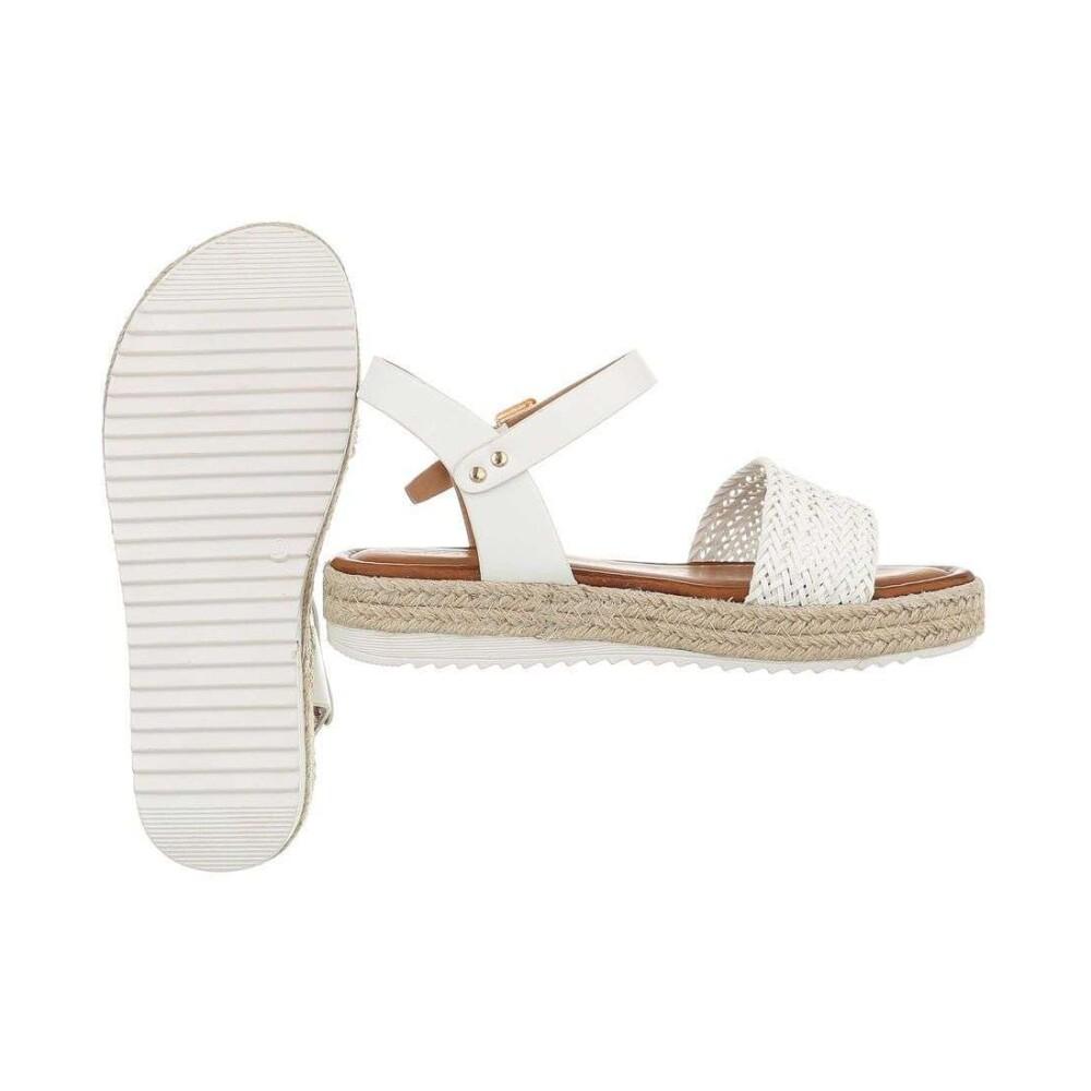 Mulanka Hvit Mulanka Sandale Sandaler - Hvit