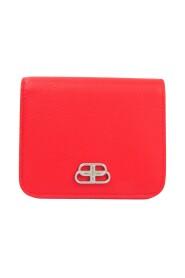 Pre-owned  601474 Leather Wallet (bi-fold)
