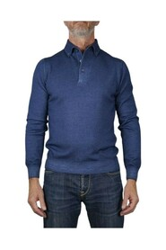 PULL POLO BOUTONNE