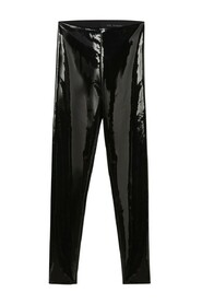 Parelmoer latex legging smal
