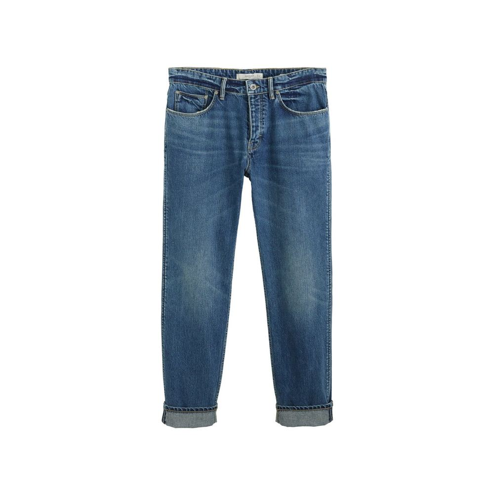 Regular fit jeans i medium vask, Steve
