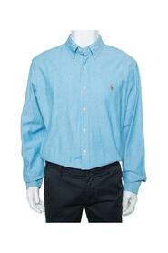 Button Front Slim Fit Oxford Shirt