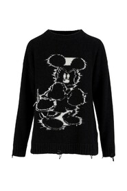 mickey mouse round neck