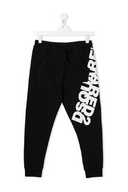 reflected logo pants