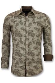 Italiaanse Slim Fit Overhemd - 3001